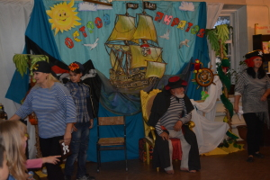 на острове пиратов